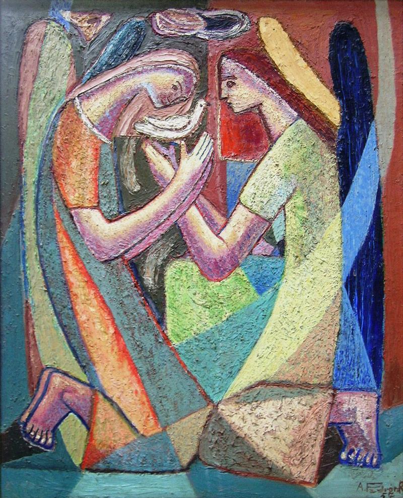 """Felo Monzón, """"Platanal"""", 1948"""